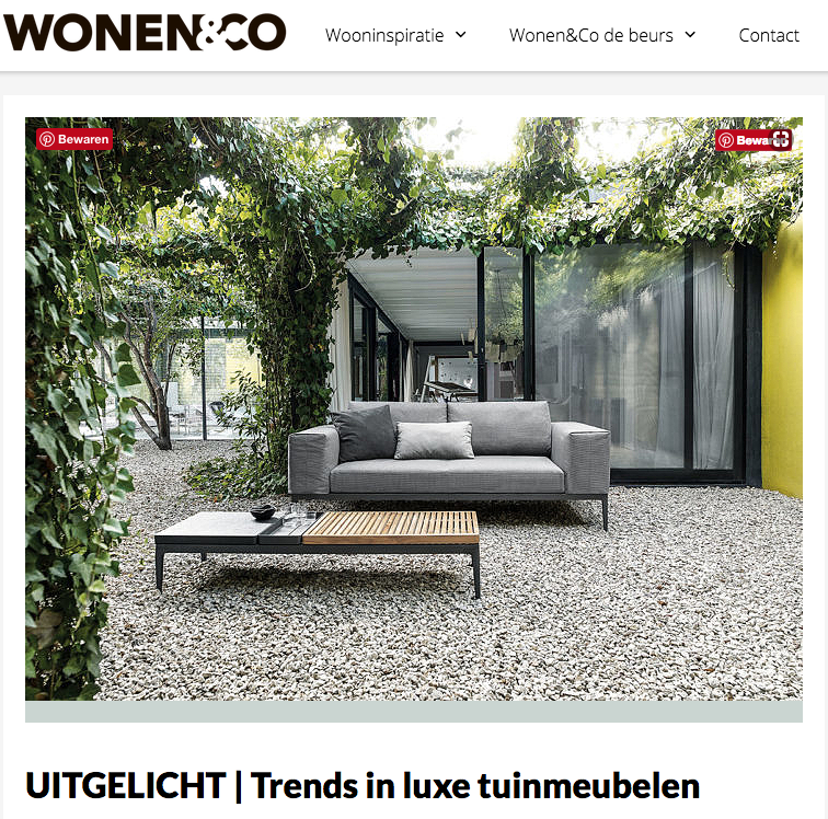 Trends in tuinmeubelen.